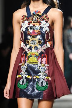 Mary Katrantzou Fall 2014 RTW