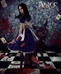 Alice and Chesire Cat - Alice: Madness Returns