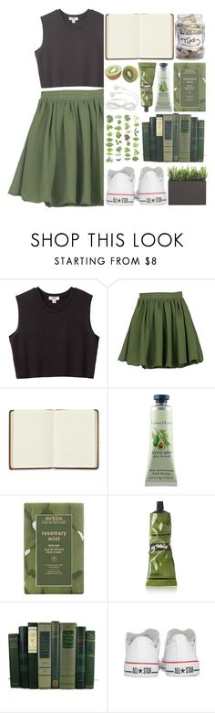 """""""You may not be there yet, but you're closer than you were yesterday."""" by perfectharry ❤ liked on Polyvore featuring Nomia, Harrods, Crabtree & Evelyn, Aveda, Aesop and Converse"""