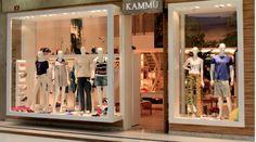 Loja Kammu - Shopping União Osasco... www.priciladalzochio.com.br. Vitrine de loja de roupas masculina e feminina projetado pela arquiteta Pricila Dalzochio. www.priciladalzochio,com.br Projeto de Loja de shopping.