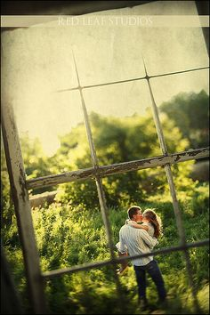 engagement photo using my grandparents old barn window. Engagement Couple, Engagement Pictures, Engagement Shoots, Wedding Engagement, Engagement Picture Props, Country Engagement, Couple Photography, Photography Poses, Wedding Photography