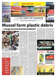 Fishing and outdoors newspaper april 2018