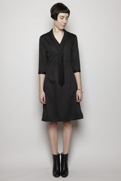 Tie dress by Henrik Vibskov via Totokaelo. For when I feel a little indie, obvs.