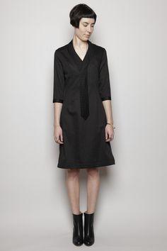 Totokaelo - Henrik Vibskov - Tie Dress - Black