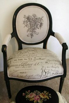 French Country Upholstered Chairs - Ideas on Foter Decor, French Chairs, French Country House, French Country Decorating, Painted Furniture, Country Decor, French Furniture, Home Decor, Upholstered Chairs