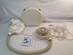 60's Vintage Portable Hair Dryer by TheCharmingAttic on Etsy, $25.00