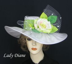 Millinery, Derby Hats, Fashion Hats - Lady Diane Hats