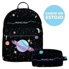 Mochila Gocase Bag - Planetinhas Manuscrita Bags For Teens, School Bags For Girls, Girls Bags, Mochila Do Bts, Mini Mochila, Cute Mini Backpacks, Trendy Backpacks, Kawaii Accessories, Bag Accessories