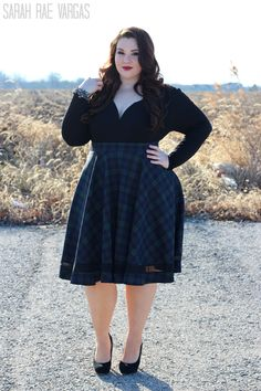 Winter Fashion in Missguided+ [Plus Size Fashion] | Ravings By Rae