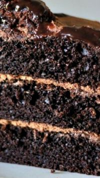 One Bowl Chocolate Cake (from scratch) ~ Says: This no-fail recipe is perfectly delicious, easy and it never fails me.