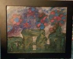 Pastel Flowers, Abstract Flowers, Abstract Watercolor, Oil Pastel Paintings, Stonehenge, Handmade Art, Original Art, Etsy Seller, Hand Painted