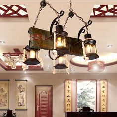 Rustic chandeliers consist four-light, supported by wrought iron fixture. Vintage rustic chandeliers are best for dinning room. tea-house and study room to get an antique look. Rustic Chandelier, Chandeliers, Wrought Iron, Connection, Bulb, Ceiling Lights, Lighting, Antiques, House