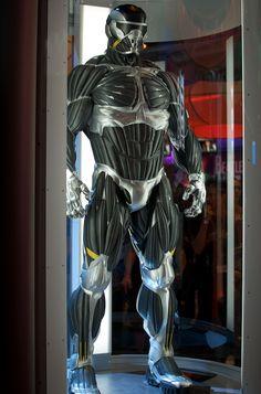 Nanosuit!! Sci-fi concept future soldier armor