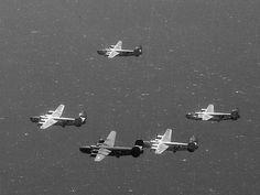 Silver Halide Photo B-24 Liberator WW II 755th Bomb Squadron 458th Bomb Group