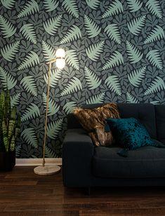 Shop by design Wallpaper Paste, Green Wallpaper, Dyi, Sea Plants, Decoration Table, Decor Diy, Home Decor, Best Decor