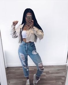 Find images and videos about fashion, outfit and casual on We Heart It - the app to get lost in what you love. Spring Outfits, Winter Outfits, Mode Hip Hop, Teen Fashion, Fashion Outfits, Style Fashion, Fashion Women, Fashion Online, Cute Casual Outfits