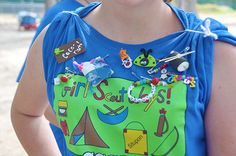 Girl Scout Tee with SWAPS