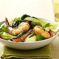 Bok Choy & Shrimp (via Parents.com)