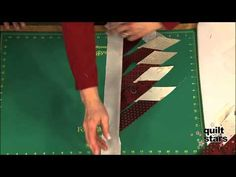 Hunter's Star without the stress  ▶ Quilt With The Stars: Deb Tucker, Part 2 - YouTube