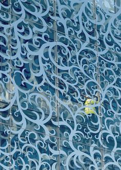 The design of the John Lewis Department Store and Cineplex by Foreign Office Architects John Lewis Department Store, Fritted Glass, Glass Facades, Glass Printing, Cool Office, Facade Design, Do It Yourself Home, Bathroom Interior Design, Beautiful Interiors