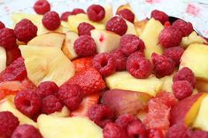 Susannah's Kitchen: Recipe | 13 Spectacular Fresh Fruit Salads | Recipe, Discount Retro Vintage Aprons, Top Kitchen Gadgets, Recipes, Gifts, Products, Party, Holiday, Wedding, Chicken, Peanut Butter, Pumpkin, Appetizers, Breakfast, Cupcakes, Desserts, DIY, Style, Comfort, Mexican, Food, Healthy, Favorites, Best, Delicious, Yum, Yummy, Nom Nom, Ultimate,