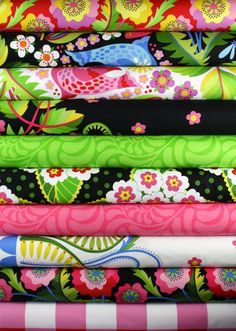 Early Birds by Jane Sassaman for FreeSpirit Fabrics - Berry Patch Border Strawberry PWJS40. $8.75, via Etsy.