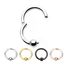 Stainless Steel Body Jewelry Fake Taper Expander with Jet Black CZ /& O-Rings 16g 7mm