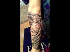 Angel Tattoo Angel, Portrait, Tattoos, Tattoo, Tatuajes, Angels, Men Portrait, Portrait Illustration, Japanese Tattoos