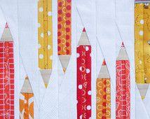 Pretty Pencils - Paper piecing pattern