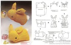 Inspiring image bunny, cute, kawaii, pano, tutorial - Resolution - Find the image to your taste Boo Boo Bunny, Boo Boos, Rabbit Crafts, Plushie Patterns, Bunny Plush, Sewing Toys, Felt Diy, Stuffed Animal Patterns, Cute Bunny