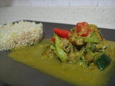 Mis Recetas Anticáncer: Curry vegetal con Quinoa. Thermomix