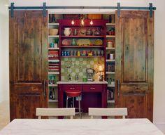 barn door sliders for pantry