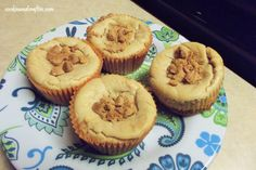 Peanut Butter Mini Cheesecakes with A Girl Scout Cookie Crust!