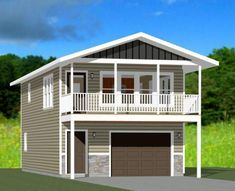 PDF house plans, garage plans, & shed plans. #PoleShedPlan