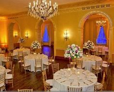Stack & Frizzell's Wedding Reception at The Colony Club (4th Floor Ballroom) - Michigan