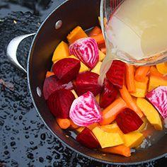 Foy Update: Butternut Beet Soup - Fall Recipe