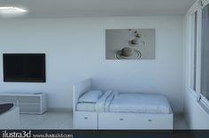 Render realizado por ilustra3d. Cliente: Carmen Planas. Servicio online y presencial. Andorra
