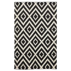 "Tribal Dhurrie Rug | PBteen - SALE NZD133.90 – NZD498.40  Dazzling and durable, our dhurrie is ideal for high-traffic areas. It's woven of pure wool yarns in black and white.  3' wide x 5' long (36"" wide x 60"" long)  5' wide x 8' long (60"" wide x 96"" long)  8' wide x 10' long (96"" wide x 120"" long)  Hand tufted of wool.  Use with our Rug Pad (sold separately).  Imported."
