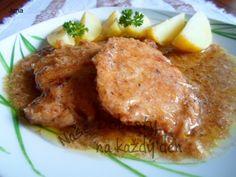 Recept Křenové kotlety - Naše Dobroty na každý den Pork Tenderloin Recipes, Good Food, Food And Drink, Menu, Treats, Chicken, Cooking, Foodies, Syrup