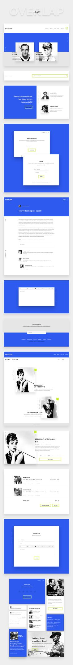 The freebie of the day is a modern minimalist component based UI kit, perfect for designing a clean and stylish website...