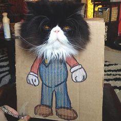 mario cat!!! LOL!!:P