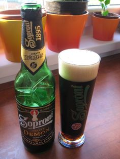 Hungarian dark beer...  a friend pinned this.. thought you would like it