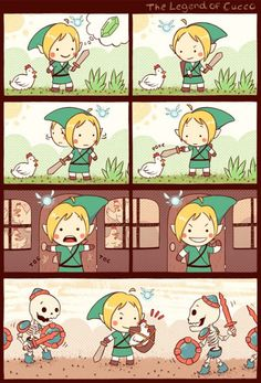 The Legend of Cucco - Dueling Analogs