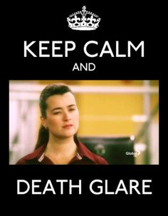 Keep Calm -- Death Glare gonna be missed With no indifference to the other ladies here, but the bar was set HIGH by ZIVA