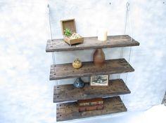 rustic shelf, distressed shelf, barn wood shelf, reclaimed wood shelf, wall shelf on Etsy, $235.79 CAD