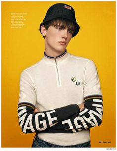 Vintage Inspired Styles Revamped for Fall Brit Pop Fashion Spread from British GQ Style image Brit Pop GQ Style 001 800x1036