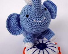 Elefante Antonio - Amigurumi
