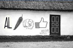 Al Aji no me gusta  #paredes #streetart