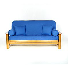 @Overstock - Cobalt Full-size Futon Cover - Cover your full-size futon stylishly with this comfortable cotton futon cover. This slip-resistant cover features a concealed zipper and is tailored to look great on your futon sofa.  http://www.overstock.com/Home-Garden/Cobalt-Full-size-Futon-Cover/5078119/product.html?CID=214117 $36.99