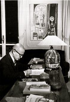 """Brassaï, """"Michel Leiris"""", 1962."""